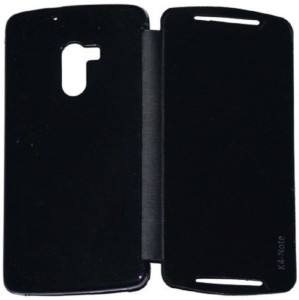 100% authentic 20236 81c30 RDcase Flip Cover for Lenovo K4 NoteBlack