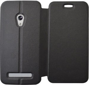 new product a141e 6db42 COVERNEW Flip Cover for Asus Zenfone 5 A500CG (5.0 inches)Black