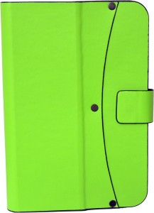 Colorkart Flip Cover for 7 inch Flip & Reverse Dual Color Stand Cover For Lenovo S5000 Tab