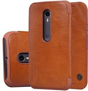 Nillkin Flip Cover for Motorola Moto G (3rd Generation)
