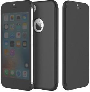 wholesale dealer db119 cb275 Elegance Covers Flip Cover for Apple iPhone 6SMatte Black