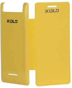 new concept 1bfd9 ec120 ARS Flip Cover for Xolo A500Syellow