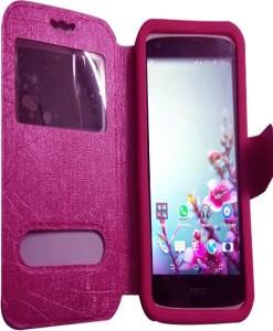 best website 6c250 23ec8 NAV Flip Cover for HTC One ME Dual SIMPink