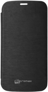 Sai Flip Cover for Micromax Canvas A47 Black available at Flipkart for Rs.248
