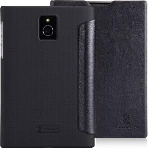 timeless design 5599e a9061 Nillkin Flip Cover for BlackBerry PassportBlack