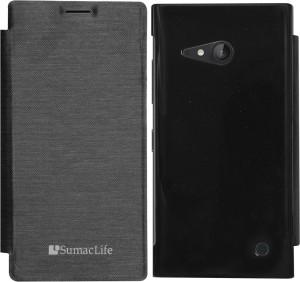 SumacLife Flip Cover for Nokia Lumia 730