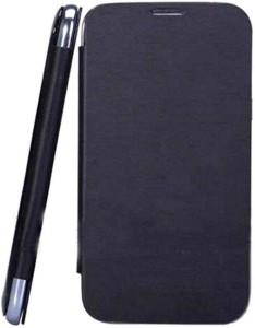 JKR Flip Cover for Xolo Q700   Black Black available at Flipkart for Rs.299