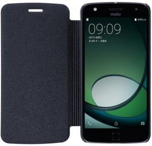 the best attitude b42fa a82ed Sprik Flip Cover for Motorola Moto G5 PlusBlack