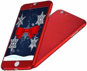 Amigo Front Back Case For Iphone 7 Plus Red Best Price In India
