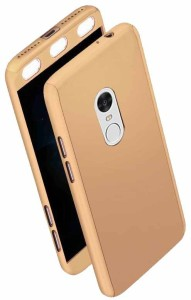 Gillz Front & Back Case for Mi Redmi Note 4