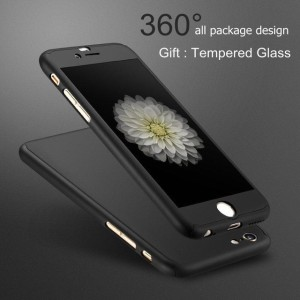 brand new bf56b 221d8 Spicesun Front & Back Case for Ipaky Apple iPhone 6S Plus / 6 PlusBlack