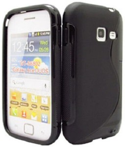 S Case Back Cover for Samsung Galaxy Ace Duos S6802Black, Grip Case