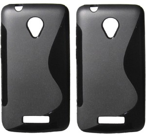 pretty nice 12498 738ef S Case Back Cover for Micromax Q391 Canvas Doodle 4Black, Grip Case
