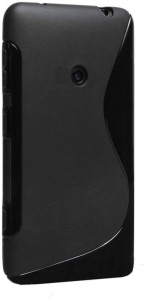 S Fancy Grip Back Cover for Samsung Metro B350EBlack