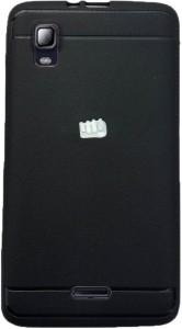 pretty nice da4e2 f9ecd Tommcase Back Cover for Micromax Canvas Doodle 3 A102Black, Grip Case