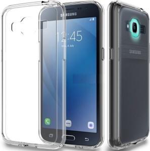 buy popular a3669 c9541 mgaurd Back Cover for Samsung Galaxy J2 6 2016Transparent, Grip Case