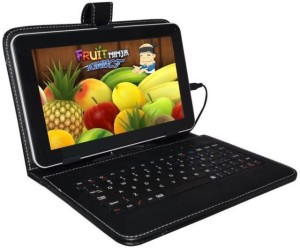 Colorkart Flip Cover for 7 Inch Lenovo A2107,A3500,A1000L with inbuilt Keyboard Stand case And Micro Usb Cable