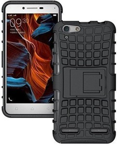 huge selection of cf68a f6d7b Helix Back Cover for Reliance Jio LYF Water 8 LS 5015Black, Shock Proof,  Rubber