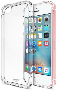 newest 05344 e7a5c MTT Back Cover for Apple iPhone 5, Apple iPhone 5S, Apple iPhone  SETransperant, Shock Proof