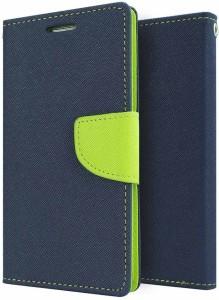 new concept d1c1c c2101 Blue Magnet Wallet Case Cover for Asus Zenfone 5Blue