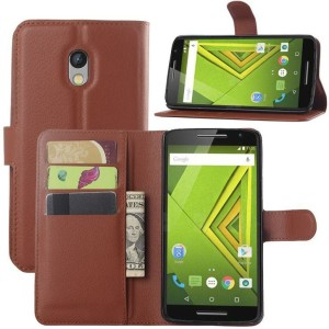 Excelsior Wallet Case Cover for Motorola Moto X Play