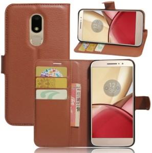 Excelsior Wallet Case Cover for Motorola Moto M