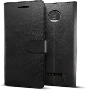 best website e0e98 7ea41 MTT Wallet Case Cover for Moto Z PlayBlack