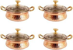 Indian Art Villa Pack of 4 Casserole Set