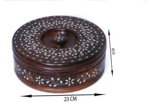india wooden handicraft chapati box Casserole