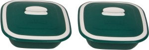 Cutting Edge Solitaire Casserole, Set of 2, 1250 ml, Green Pack of 2 Casserole Set