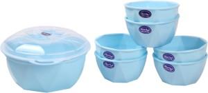 Rich Craft Good Time Pudding Set 8 Pcs ( SKY Blue) Microfibre Bowl Set