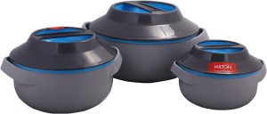 Milton Microwow Pack of 3 Casserole Set