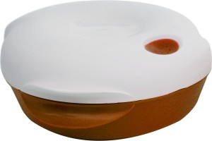 Cuttingedge Emerald Serving Dish Small 1750 ml Casserole (Orange, Pack of 1) Casserole Set