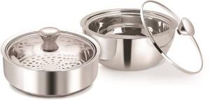 Nano Nine Meal Serve Insulated, Roti Saver Mini(800 ml) Gravy Pot Mini(850 ml)- Gift Set No.1 Pack of 2 Casserole Set
