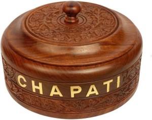 india wooden handicraft carving chapati box Casserole