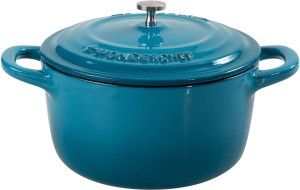 Wonderchef Ferro 14cm Casserole with Lid-Blue Pack of 2 Casserole
