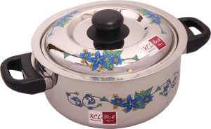 KCL Flora Stainless Steel 2500 ML Casserole