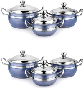 Mahavir Pack of 6 Casserole Set