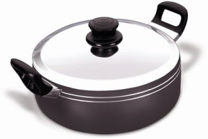 Nirali Cherry Plus Non-Stick Induction Bottom, 23.5cm Casserole