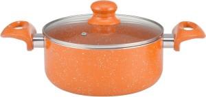 Wonderchef Tangerine 24cm Casserole with Lid Casserole
