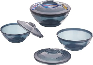 Primeway Microwave Cookware Pack of 3 Casserole Set
