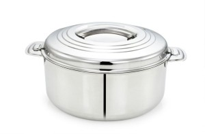 chintamani stainless steel casserole set 2500 ml Casserole