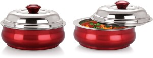 Nano Nine Belly Stainless Steel Insulated Pack of 2 Casserole Set