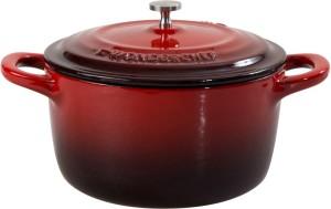 Wonderchef Ferro 20cm Casserole with Lid-Red Pack of 2 Casserole