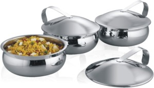 Krome by Jindal Stainless Krome Casserole