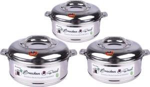 Brecken Paul Pack of 3 Casserole Set