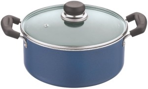 Vinod Casserole 22cm with Glass Lid Pack of 2 Casserole