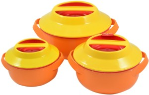 Milton Microwow Set of 3 Pack of 3 Casserole Set