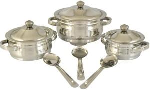 Mahavir Pack of 9 Casserole Set