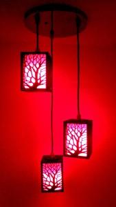 Sur Laser Pendants Ceiling Lamp